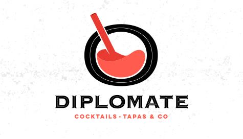 Logo bar diplomate