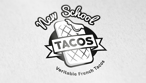 Logo New School Tacos